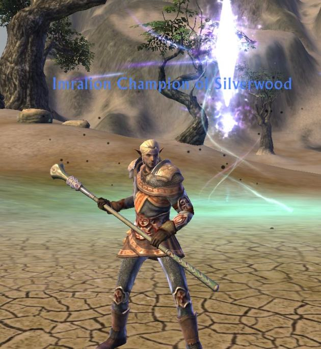 Imralion - Thunder Cleric