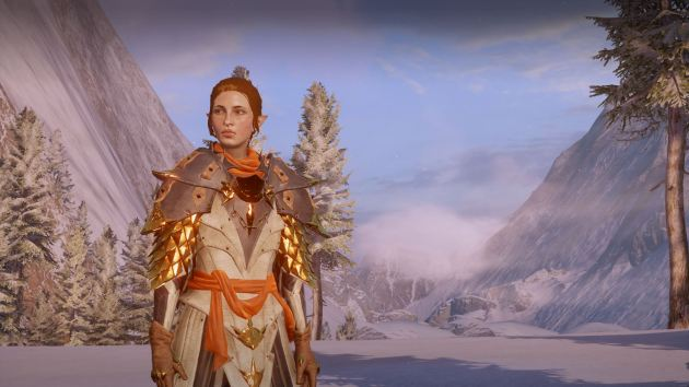 This is my Inquisitor. She always has this baffled and/or pissed off look.